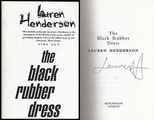 Lauren Henderson - The Black Rubber Dress (Sam Jones) - Signed  Proof/ARC (1997)