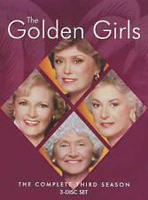 The Golden Girls - The Complete Third Season 3 (DVD, 2016, 3-Disc Set)