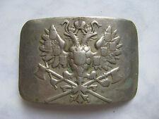 WWI authentique Boucle de ceinture Melchior de sapeur RUSSE Armée Imperiale RARE