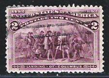 US Amazing Old Fine Used Stamp         US#41 Thin
