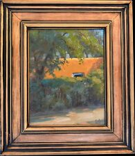 "Original Oil Painting by Bob Rohm, ""Hidden View"" 10""x8"" Panel, Framed 15.25""H"