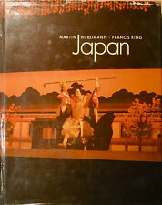 JAPAN, by Martin Hürlimann & Francis King, 1970, Hardcover, Illustrated
