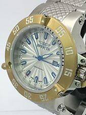 Invicta Subaqua Noma III Swiss Quartz GMT Stainless Steel Men's Watch 21729 50mm