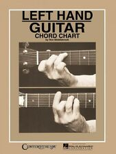 Left Hand Guitar Chord Chart - Reference NEW 000000005