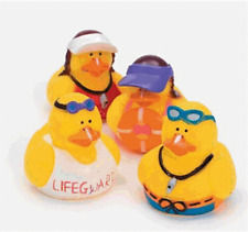 Life Guard Duck Set of 4   **Free S/H when you buy 6 items from my store:-)