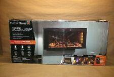 "New ListingClassicFlame 42"" 3D Infrared Quartz Electric Fireplace Insert. Safer Plug Sensor"