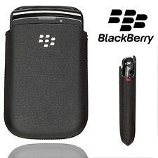 Bolsa De Cuero Blackberry Bolsillo para diversos teléfonos Funda Pestaña Delgado De Calidad