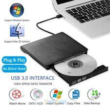 External USB 3.0 DVD RW CD Writer Drive Burner Reader Player For Laptop PC Mac