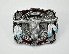 Skull Western Belt Buckle Belt Buckle Cowboay Indian Dreamcatcher 522