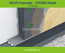 100 qm - 100 mm WDVS System Fassadendämmung EPS Neopor 032, Dämmung