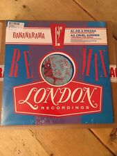 BANANARAMA Remixed Volume 1 RSD 2019 Aie A Mwana / Cruel Summer BLUE VINYL /NEW