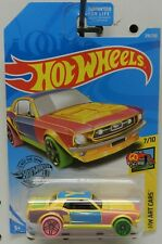 FORD MUSTANG ART CARS PINK YELLOW 1967 67 218 7 GREEN Y COUPE HW HOT WHEELS