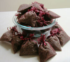 Set of 40 Lavender Sachets made with Burgundy Organza Bags