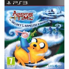 Adventure Time Secrets of The Nameless Kingdom Sony PlayStation 3 Ps3 Game MINT