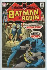 1970 DC DETECTIVE COMICS #395 NEAL ADAMS , ROBIN BACK UP STORY FN/VF   S2
