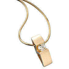 Diamant Echtschmuck-Halsketten & -Anhänger im Collier-Stil aus Gelbgold