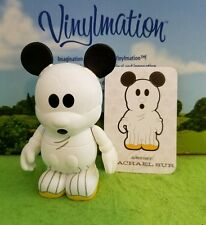 """Disney Vinylmation 3"""" Park Set 1 Holiday Ghost Halloween Mickey Mouse with Card"""