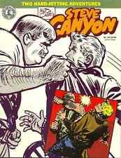 STEVE CANYON #20 Mar 1988 - MILTON CANIFF - CLASSIC HARDBOILED ACTION STRIP 1954