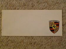 1967 / 1968 Porsche 911 911L 912 Showroom Advertising Brochure RARE Awesome L@@K
