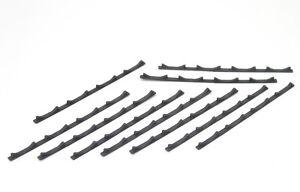 BULKSCENE - MODEL STEEL COIL FLOOR CHOCKS (x10) OO GAUGE 1/76 - NEW