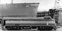 GMO Railroad  photo Ingalls 4-S Locomotive Gulf Mobile Ohio train Builder photo