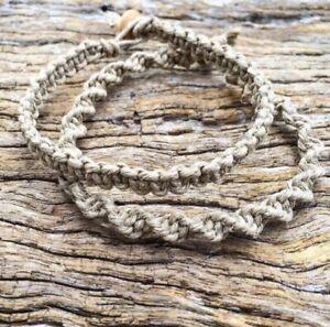 Hand Made Hemp Macrame Bracelets