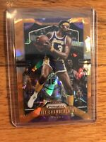 Wilt Chamberlain 2019-20 Panini Prizm Orange Ice Prizms #18 LA Lakers