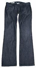 BANANA REPUBLIC womens Classic Boot Cut dark wash jeans 10 x 34 L