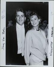 Jimmy Van Patten (Actor), Nicollette Savalas (Actress and model) ORIGINAL PHOTO