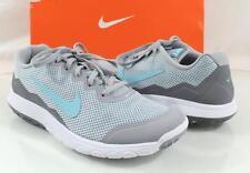Women's Nike FLEX EXPERIENCE RUN 4 Running Shoes Grey / Blue / White size 8.5