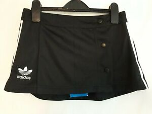 adidas Black White Sports Short Skirt Size UK 8 NEW WITH TAGS