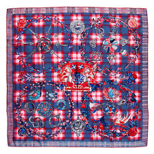 Hermes Scarf Fleurs d'Ecosse Sylvia Kerr New In Box With Tag