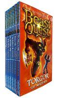 Beast Quest Series 3 Adam Blade Collection (13-18) Torgor 6 Books Pack Set NEW