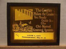 Magic Lantern Advertising Slide ~ Chi-Namel Graining System