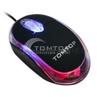 Mini 3D USB Optical Mouse Mice +Mouse Mat For PC Laptop