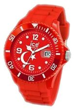 Ice  Men's WO.TR.B.S.10 Red Analog Quartz Watch with Red Dial