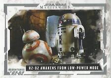 Star Wars Masterwork 2017 - AR-10 Adventures of R2-D2 Chase Card
