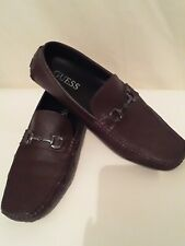 Guess mens shoes 10.5 alder  brown