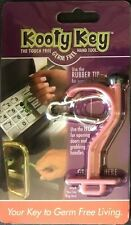 Kooty Key Pink Hands Free Germ Free Utility Tool Antimicrobial