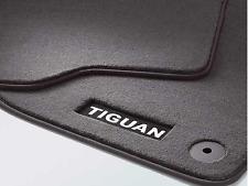 VW TIGUAN REAR CARPET FLOOR MATS GENUINE NEW