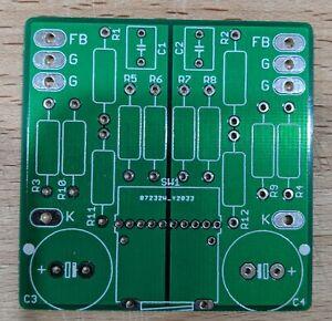DIY PCB - Cathode feedback selector PCB