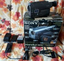 Sony CCD-TRV208E Video8 Hi8 8mm Video Camera Camcorder in box/incomplete/spares