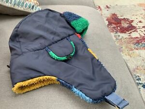 Joules Boys Winter Trapper Hat One Size Approx 4/7 Yrs