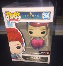 Funko pop Aquaman Mera GameStop Exclusive