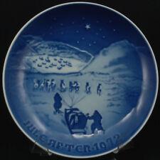 Bing & Grondahl B & G Christmas Plate 1972 Christmas In Greenland