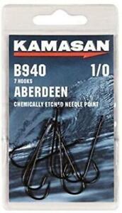 Kamasan B940 Aberdeen Hooks - Chemically Etched Needle Point