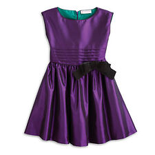 NEW American Girl Girls Size Medium 10 Purple Party Dress-Retired/NWT