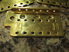 FENDER SOLID BRASS STRATOCASETER BRIDGE PLATE - FITS A MADE IN MEXICO STRAT MIM