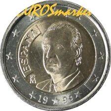 Pièces euro d'Espagne Année 1999
