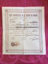 220818 - ACTION - Cave coopérative - St PAUL LES ROMANS - DRÔME - Vigne Vin 1933